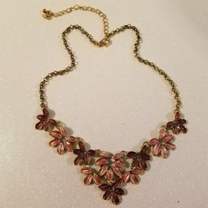 ⏰ Modcloth   $FIRM$ Floral Statement Necklace